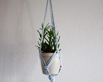 For braided macrame plant hanger / Macrame hanging plant