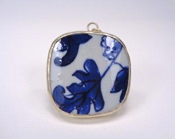 Asian porcelain shard framed charms photos 105