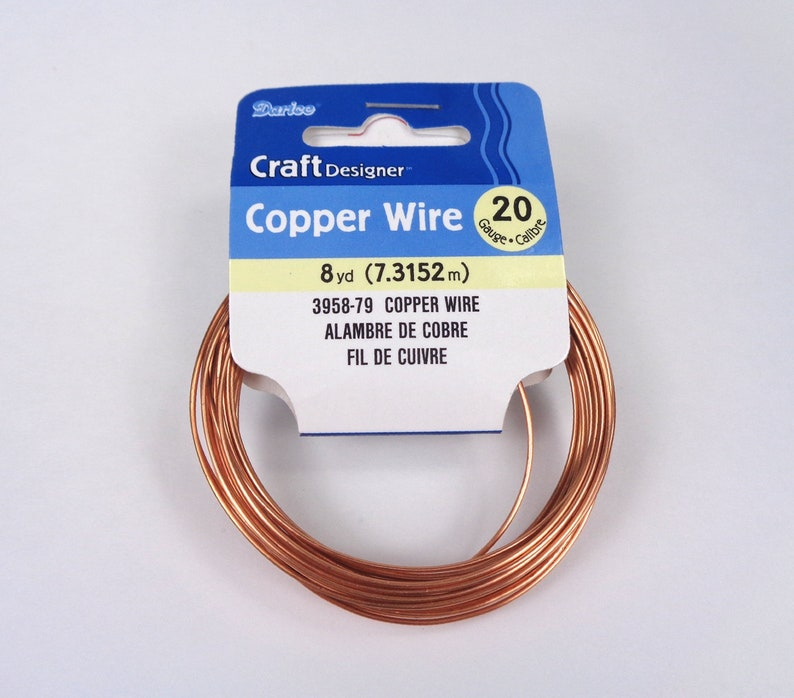 Silver Jewellery Darice Craft Wire 20 Gauge Tarnish Resistant