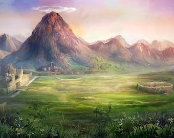 Hero of time - Legend of Zelda [print]