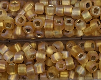 """Japanese 6/0 Seed Beads - Lot of 3 (3"""" Tubes) - Color Number F634"""