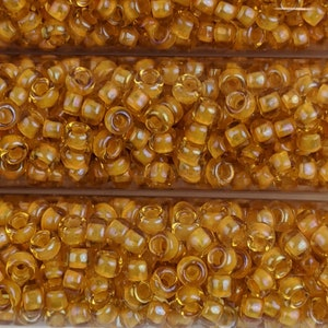 Lot of 4 - Color Number F143B Japanese 80 Seed Beads 3 Tubes