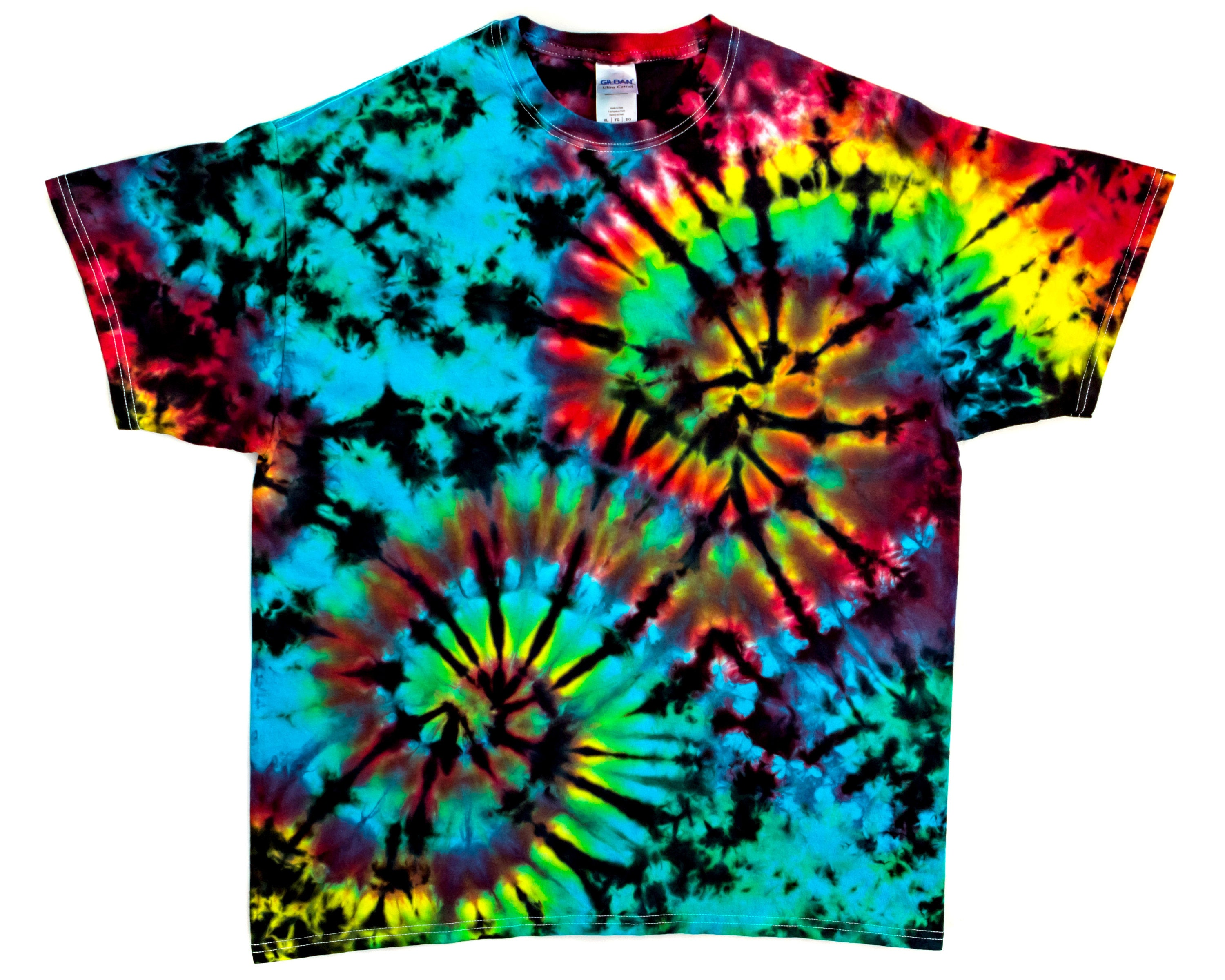 fc1ef2ef Spiral Tie Dye Shirt Diy | Top Mode Depot