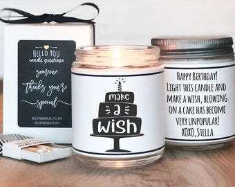 Make A Wish Candle   Covid Safe Birthday Candle   Candle Birthday Gift   Quarantine Birthday Gift   Don't Blow On The Cake Candle