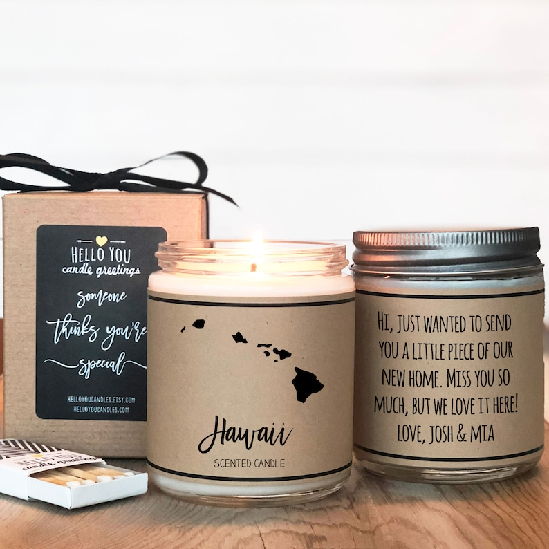 Hawaii Gift Ideas for the Holidays featured by top Hawaii blog, Hawaii Travel with Kids: Hawaii Scented Candle Homesick Gift Feeling Homesick image 0