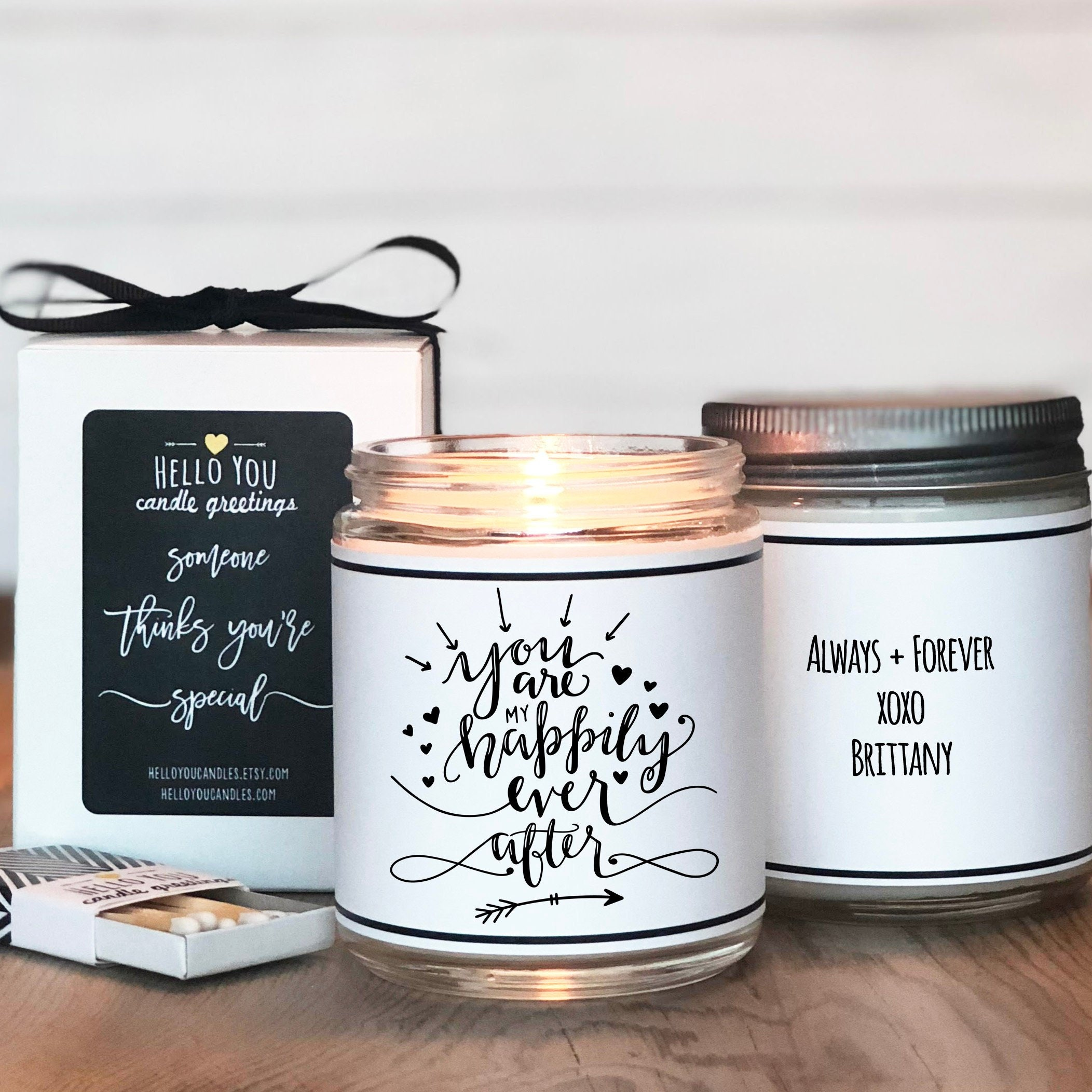You Are My Happily Ever After Candle