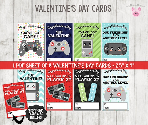 graphic regarding Printable Video referred to as Printable Video clip Match Valentines Playing cards, Movie Recreation Valentines Playing cards, Faculty Valentines, Gamer Valentines Playing cards, Printable Valentines Working day