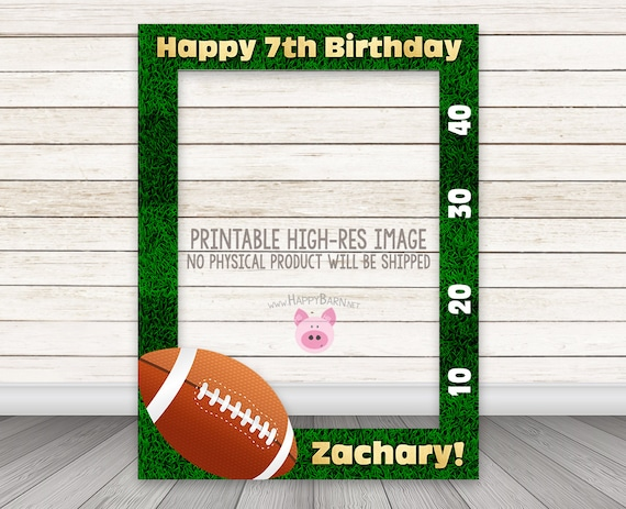graphic relating to Printable Football Field known as PRINTABLE Soccer Photobooth Body, Soccer Photograph Booth Body, Sporting activities Birthday Image Booth Body, Boy, Soccer Marketplace, Photograph Prop, Props