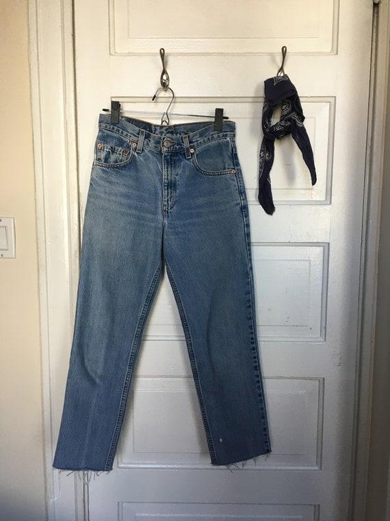 90's Vintage Levi's 512 Size 26