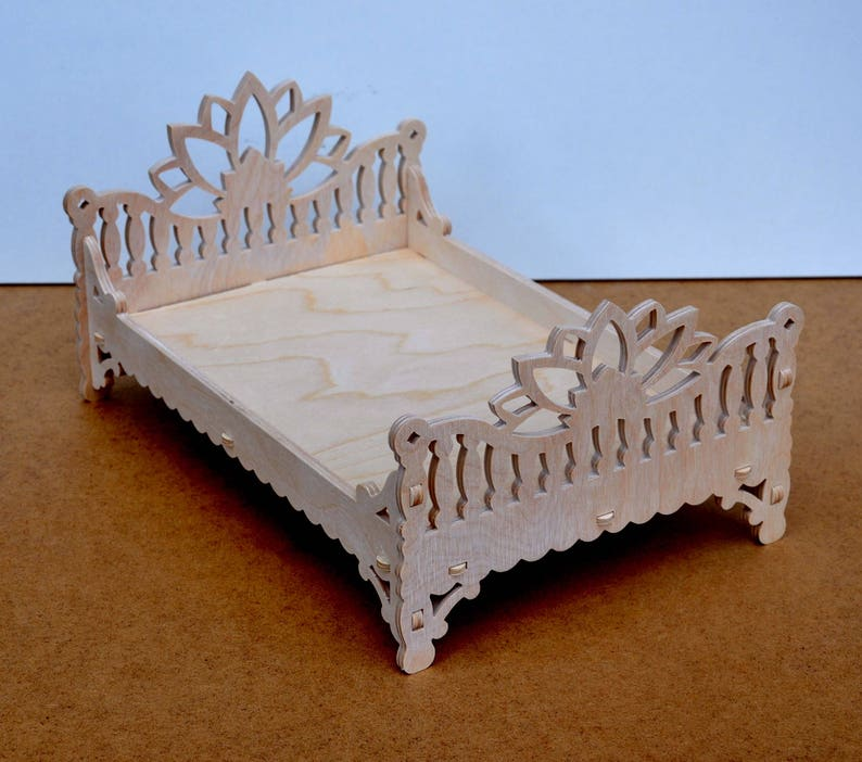 Excellent Barbie And Ken Family Bed In Indian Style Dollhouse Miniature Furniture Dollhouse Bedroom Barbie Size Furniture Two Dolls Bed Download Free Architecture Designs Rallybritishbridgeorg