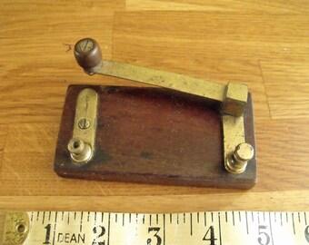 Telegram Morse Machine