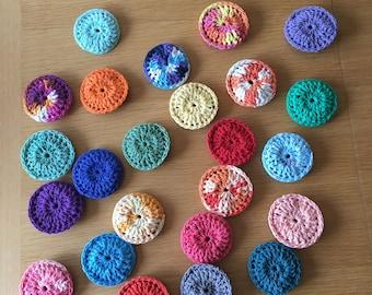 Dish Scrubbie, crochet scrubbie, nylon net scrubbie, kitchen accessories, wedding gift, eco friendly scrubbie, reusable dish scrubbie