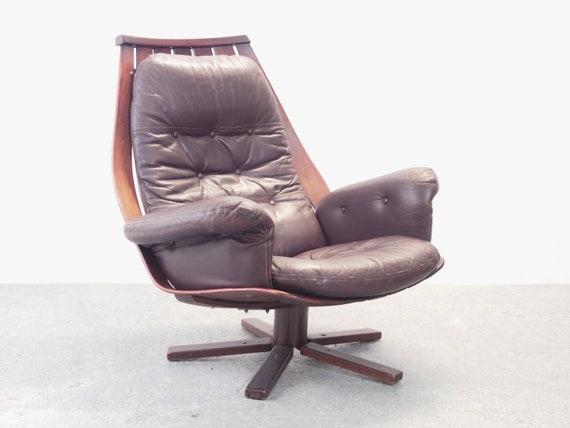 Dutch Design Fauteuil Gebr Jonkers Pastoe Jaren 60 Retro.Vintage Scandinavian Mid Century Bentwood Swivel Chair By Hans Etsy