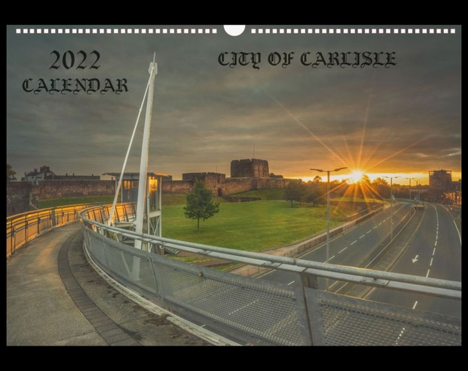 Featured listing image: City of Carlisle 2022 Calendar