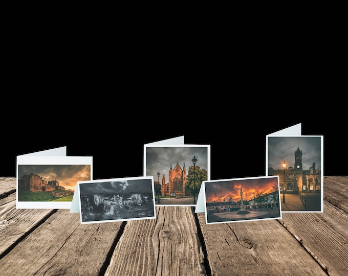 Featured listing image: City of Carlisle: Landmarks Greeting Card Pack (5 Cards)