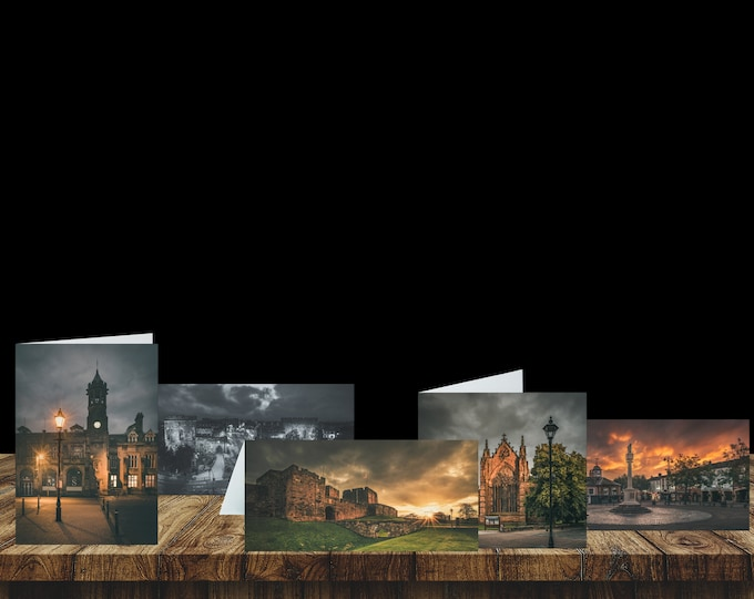 Featured listing image: City of Carlisle: Landmarks - Greeting Card Pack (5 Cards)