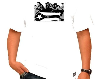 Puerto Rican Young Lords White Shirt