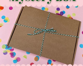 Born on a Tuesday Liberty print Mystery Box - choice of designs | Lucky dip | small gift | Surprise box | gifts idea