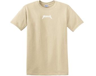 Yeezus Tour Glastonbury Sand Short Sleeve Kanye West Shirt Yeezy TLOP Merch