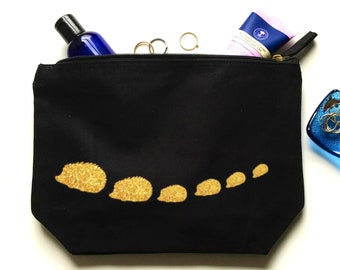 146bd32e329a Hedgehog makeup bag | Etsy