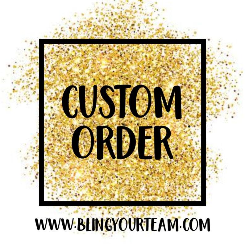 BlingYourTeamTx Custom House Order