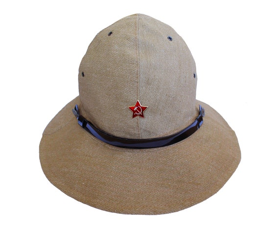 Russian military hat panama Afghanka   Soviet Army summer cap  b435a9306615