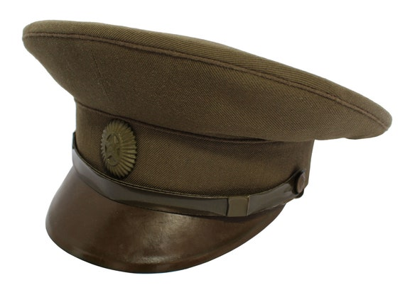 26915a8ad96 Russian field visor hat Officers Soviet Army