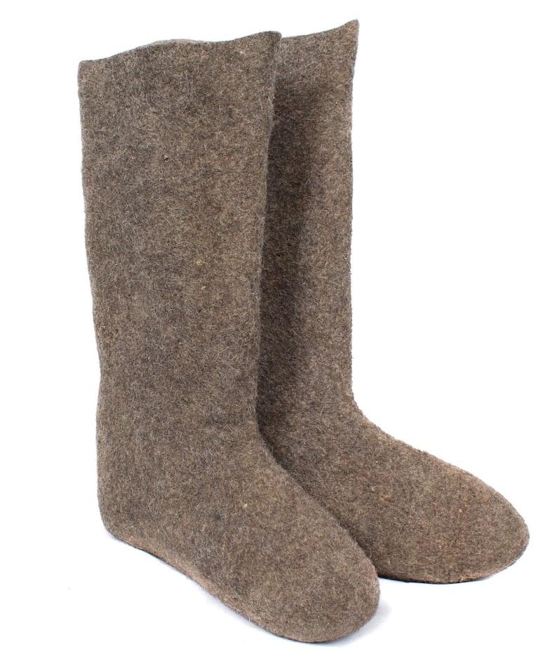 Soviet Woolen Boots Valenki Russian winter Wool image 0