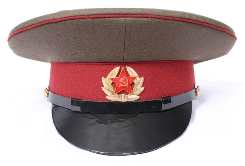 2ee6599f71e USSR Russian military visor hat internal troops MVD Sergeants
