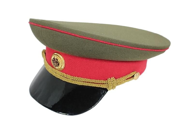 49d9c9c388b Soviet military field Visor hat General Red Army RKKA Visor