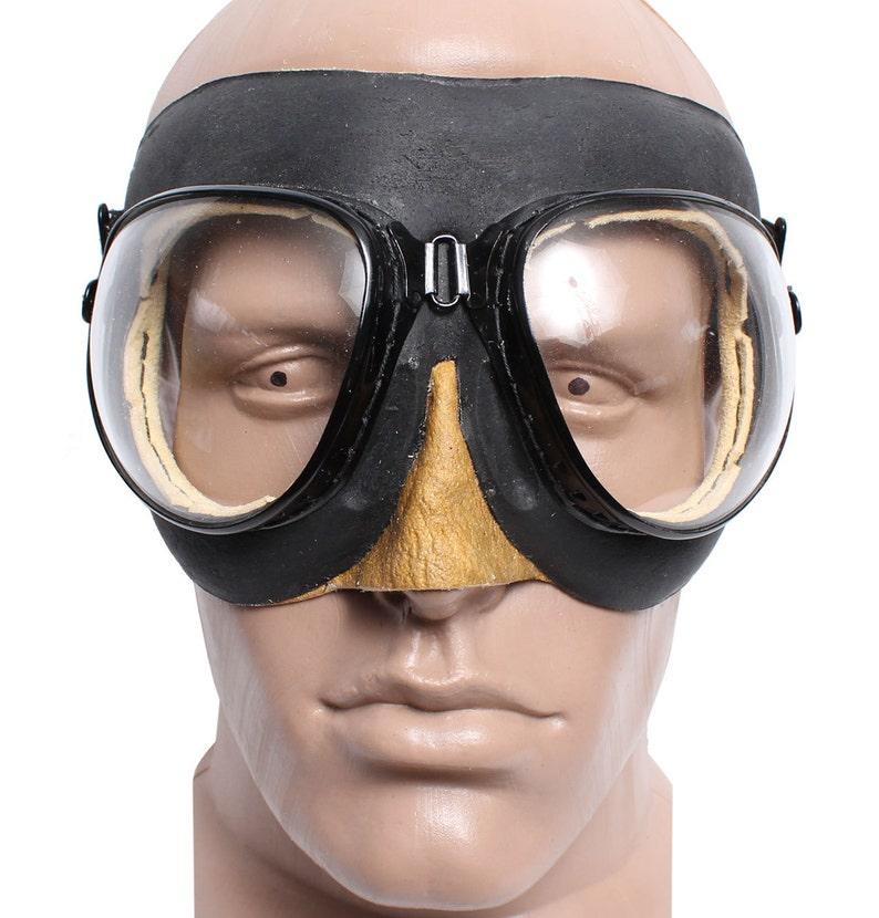 bc57222de63 Soviet Russian military aviation pilot goggles PO-1