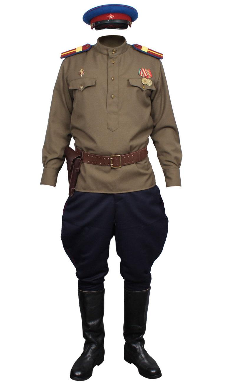 Tipo di protezione USSR di stato sovietica NKVD sergente  931106765dd1