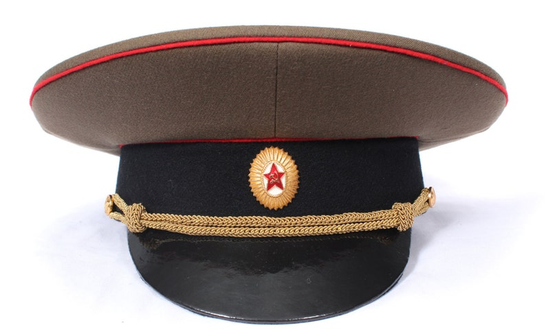 9829d55bffa Soviet military hat officer of the Tank Forces and Artillery