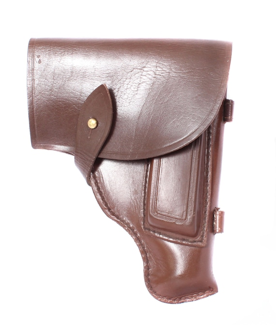 Cover for a spare store leather black PM MAKAROV