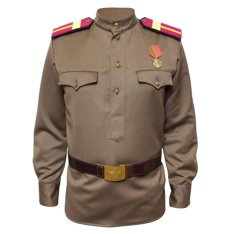 Russian Uniform jacket Gimnasterka Military Soviet Red Army RKKA WWII USSR