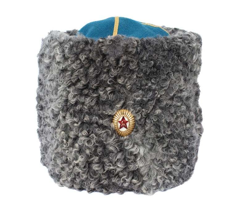 32d3df26357 USSR Military hat Soviet Russian Army General Colonel winter