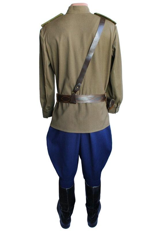 Force Guerre Gimnasterka Armée Galife Seconde Russe Et Officier De Uniforme Veste Aviation Rouge Mondiale Pantalon Costume Militaire La Soviétique Air bfY76ygv