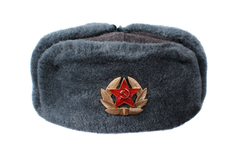 f9458b68f4ccb USSR Russian Army military hat winter Sergeant s warm fur