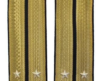 Soviet Russian Parade Navy Fleet Officer Epaulets Shoulder Boards