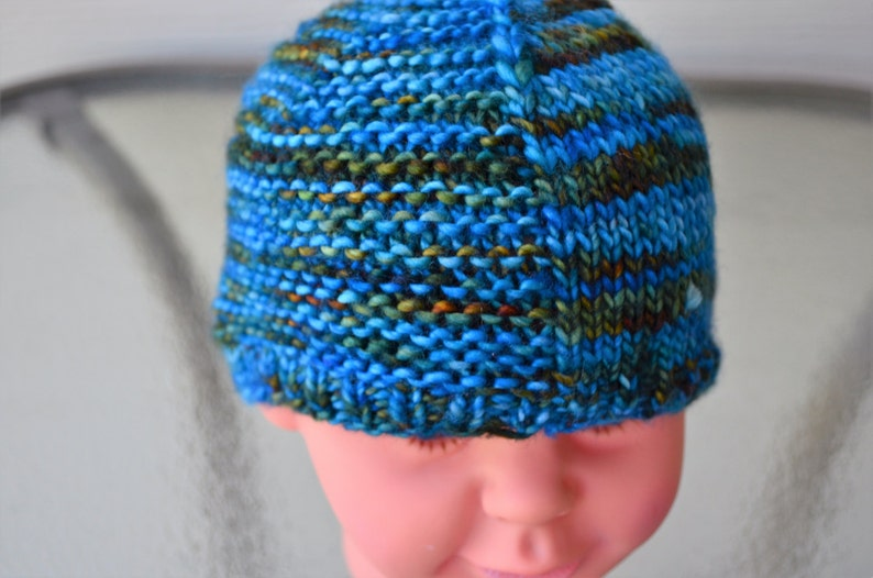 Baby Size Knitted Hat