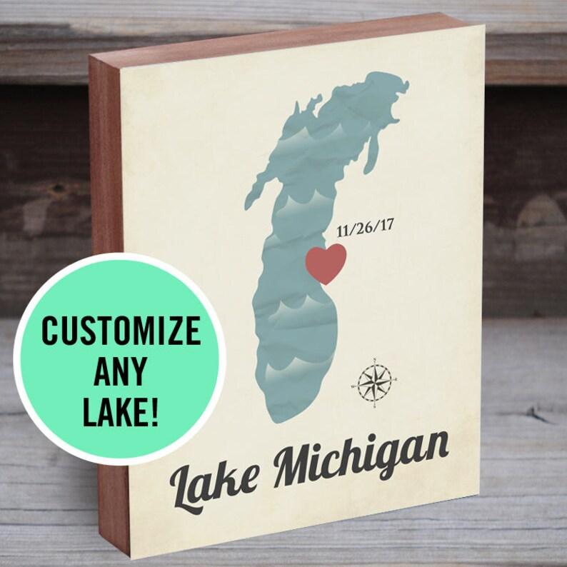 Lakehouse Sign Lake Decor Art Family Lakehouse Sign Lake Decor Lake Map Wood Lake Sign Wood