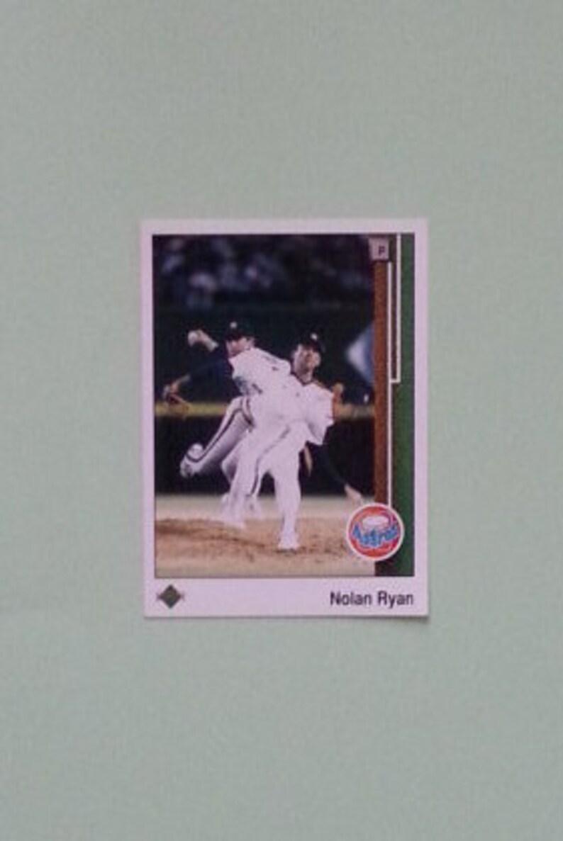 Nolan Ryan 3x Upper Deck 1989 Baseball Card 145 Houston Astros Vintage Mlb Card Upper Deck Card Baseball Card Mnm Ryan Card
