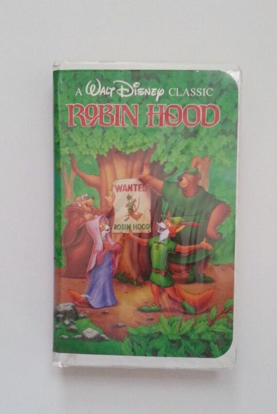Walt Disney Robin Hood Vhs Tape Black Diamond Classic Vhs Etsy