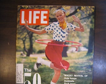 Life magazine June 16, 1972. Complete magazine with ads, articles. 1950s revival of fads, fashion, music.
