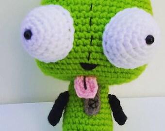 1d89eeb3108 Crochet Invader Zim Amigurumi