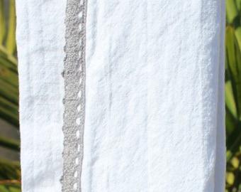 Granite Gray Crochet Trim