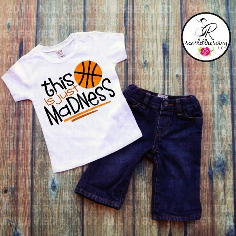732a715e621d This Is Just Madness Basketball T-shirt Boys Basketball