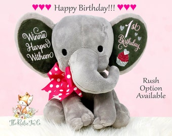 Babys First Birthday Personalized Baby Gift Girls 1st Boys For Mom