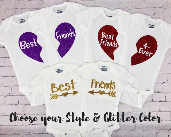 Baby Shower Gift For Twins Baby Gift Twin Onesies For Girls Etsy