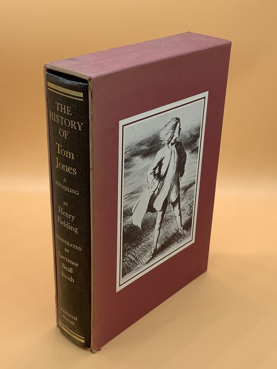 A History of Tom Jones a Foundling by Henry Fielding Illustrated by Lawrence Beall Smith
